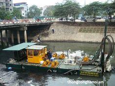 Công nghệ chất lượng cao để nạo vét lòng sông