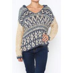 http://www.salediem.com/shop-by-size/small/long-sleeve-crochet-bodice-sweater.html #salediem #fallsweater