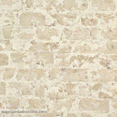 Papel pintado new walls nws 1847 51 11 papel de imitaci n - Papel imitacion piedra ...