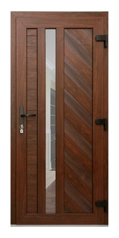 Door block (terrace) Дверной блок (террасная) Gealan plastic entrance doors provide excellent thermal insulation, they do not contain harmful lead additives, therefore they are safe. Main Entrance Door Design, Wooden Main Door Design, Door Gate Design, Entrance Doors, Pooja Room Door Design, Bedroom Door Design, Interior Design Boards, Exterior Front Doors, Aluminium Doors