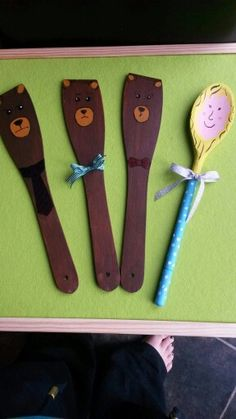 Goldilocks spoons