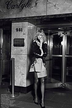 anja rubik by mario sorrenti new york partie - vogue france Feb. 2013