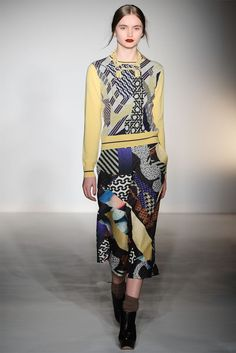Digital Matisse looks – Basso and Brook Fall 2012