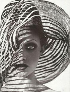 for Harper's Bazaar: by Patrick Demarchelier - amazing hat