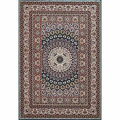 Antiquities Jaipur Cerulean Rectangular: 7 Ft. 10 In. x 10 Ft. 6 In. Rug - (In No Image Available)