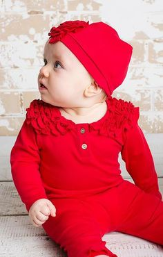 Lemon Loves Layette Coco Red Shirt