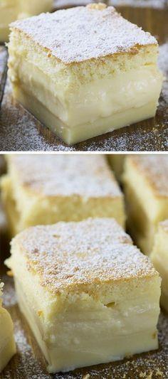 Vanilla Magic Custard Cake