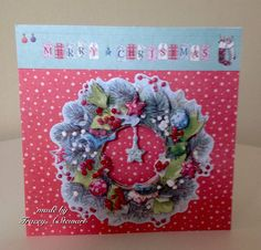 Docrafts Lucy Cromwell at Christmas Christmas 2015, Christmas Cards, Christmas Inspiration, Card Making, How To Make, Gifts, Christmas E Cards, Presents, Xmas Cards