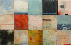 Lake Effect - encaustic painting by Laura Culic