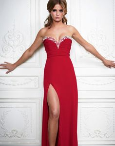 VP00081_051_a.jpg (750×958)red long dress #anoukblokker #reddress www.2dayslook.com