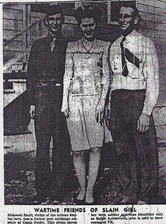 Elizabeth Short, The Black Dahlia, and friends.