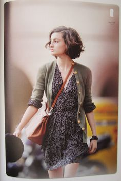 From 'Parisian Chic' - cutest dress and sweater ensemble