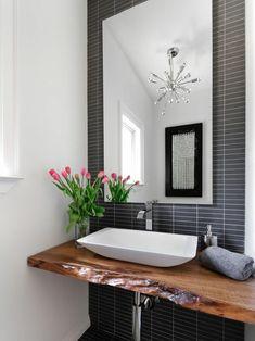 salle de bain mobilier idee bois
