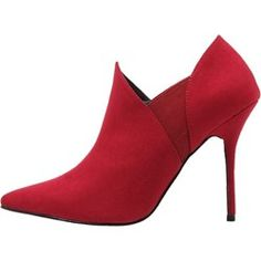 Anna Field Ankle boot red