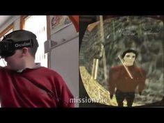 Irish Kids create Virtual Reality, then explore it using Oculus Rift - YouTube