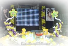 Got a party to plan?  Don't know where to start?  Then it's time to leave your worries to the experts, and save yourselves the trouble of sleepless nights.  SWEETHEART BALLOONS IS HERE!!!  Jevon G. Tan Tel No. (02) 524-9882 (02) 241-9917 (02) 985-0078 (02) 215-9970  Mobile:  Sun:       09228908682 Globe:     09178908628 Smart:     09209266448 Debut Decorations, Balloon Ideas, Sleepless Nights, Stage Design, Happenings, Manila, Joyful, Save Yourself, Globe