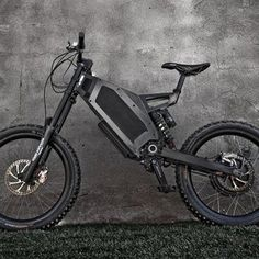 Stealth Bomber Electric Bike...50 MPH in Silence