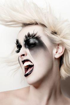 Creative Airbrush    Makeup - ShowMe MakeUp  Model - Heather Webb  Photography - Martin Higgs