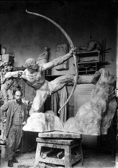 Héraklès archer (1906-1909) Antoine Bourdelle. Musée Bourdelle.