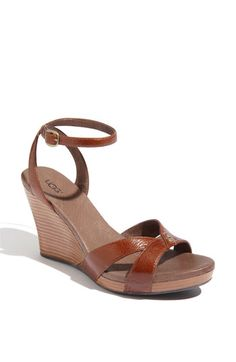 'Isadora' Wedges in Chocolate. Ordered them and they are super comfortable! Perfect for summer.
