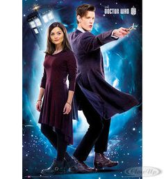 Doctor Who Poster The Doctor  Clara Oswin Oswald  Available on http://www.closeup.de