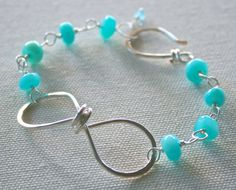 two things I love: turquoise jewelry and infinity jewelry