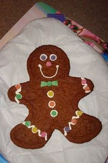 how to eat a gingerbread man