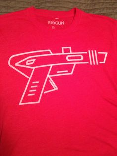 Raygun Red Logo shirt