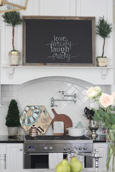 I'm pretty sure, no matter how the trends may change, I'm always going to love a chalkboard in the house. I currently have somewhere around 10 of them on display, which does sound like… Framed Chalkboard, Chalkboard Ideas, Pencil Eraser, Cardboard Paper, White Chalk, Photo On Wood, Chalkboards, Diy Frame, Art Decor