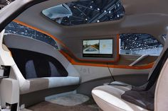 AKKA link&go 2.0 electric self-driving concept car designed for the city of the future #genevamotorshow2014 #SIAG