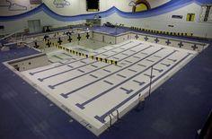 Creston High School, pool. 2013