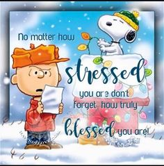 Blessings from Charlie Brown and Snoopy Charlie Brown Und Snoopy, Charlie Brown Quotes, Charlie Brown Christmas, Snoopy Christmas, Thanksgiving Snoopy, Merry Christmas, Christmas Holidays, Peanuts Quotes, Snoopy Quotes
