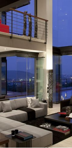 Ultra modern home with amazing view #home #decor