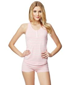 Striped Racerback Tank from Live Love Dream at Aeropostale
