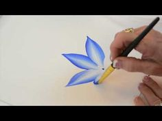 One Stroke Painting with Donna Dewberry; How to Paint in Monochrome! - YouTube