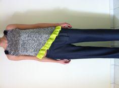 Jeans & silk