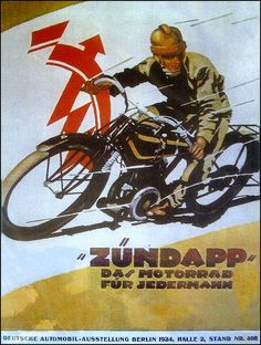 1930 Zundapp Racing | by bullittmcqueen Bike Poster, Motorcycle Posters, Poster Ads, Motorcycle Art, Motorcycle Design, Bike Art, Advertising Poster, Vintage Bikes, Vintage Motorcycles