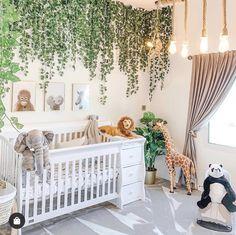 Baby Boy Room Decor, Baby Room Design, Baby Bedroom, Baby Boy Rooms, Nursery Room, Jungle Baby Room, Jungle Theme Nursery, Boys Jungle Bedroom, Safari Room