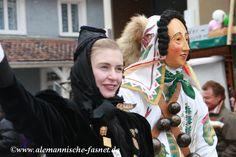 Hansele und Gretele von der Narrenzunft Grünwinkel Geisingen