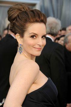 Tina Fey at the Oscars 2012. she looks gorgeous