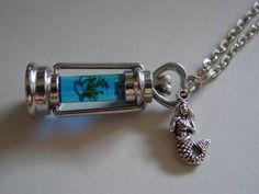H2O Just Add Water Moon Pool Blue Water Necklace by JJsCollections, $25.00