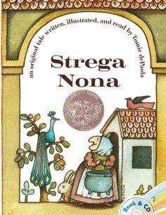 Strega Nona by Tomie dePaola http://www.amazon.com/dp/1442433558/ref=cm_sw_r_pi_dp_bV54ub0DF0RFD