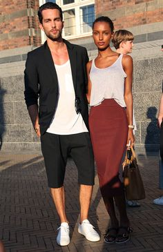 jasmine tookes look burgundy skirt tobias sorensen look total black