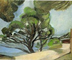 Henri Matisse - Landscape with road 1917