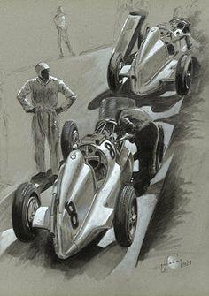 1934- Mercedes W25