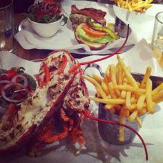 Burger and lobster at... Burger & Lobster