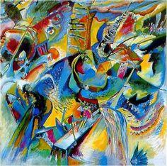 "Vasilij Vasil'evič #KANDINSKIJ, ""IMPROVVISAZIONE KLAMM,"" 1914 #art #artwit #twitart #followart #iloveart #artist pic.twitter.com/DJpptFPx6F"