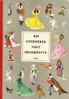 Retro Kids, Film Strip, My Childhood Memories, Hungary, Book Art, 1, History, Illustration, Painting