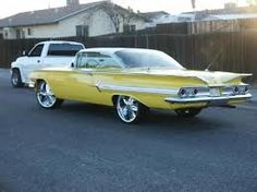 Image result for Cars of the 60's
