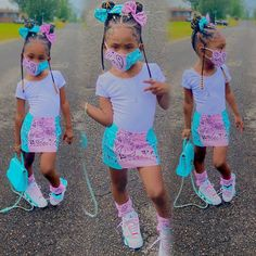 Cute Little Girls Outfits, Cute Swag Outfits, Teenage Girl Outfits, Kids Outfits Girls, Baby Outfits, Cute Black Babies, Black Baby Girls, Black Kids Fashion, Baby Girl Fashion
